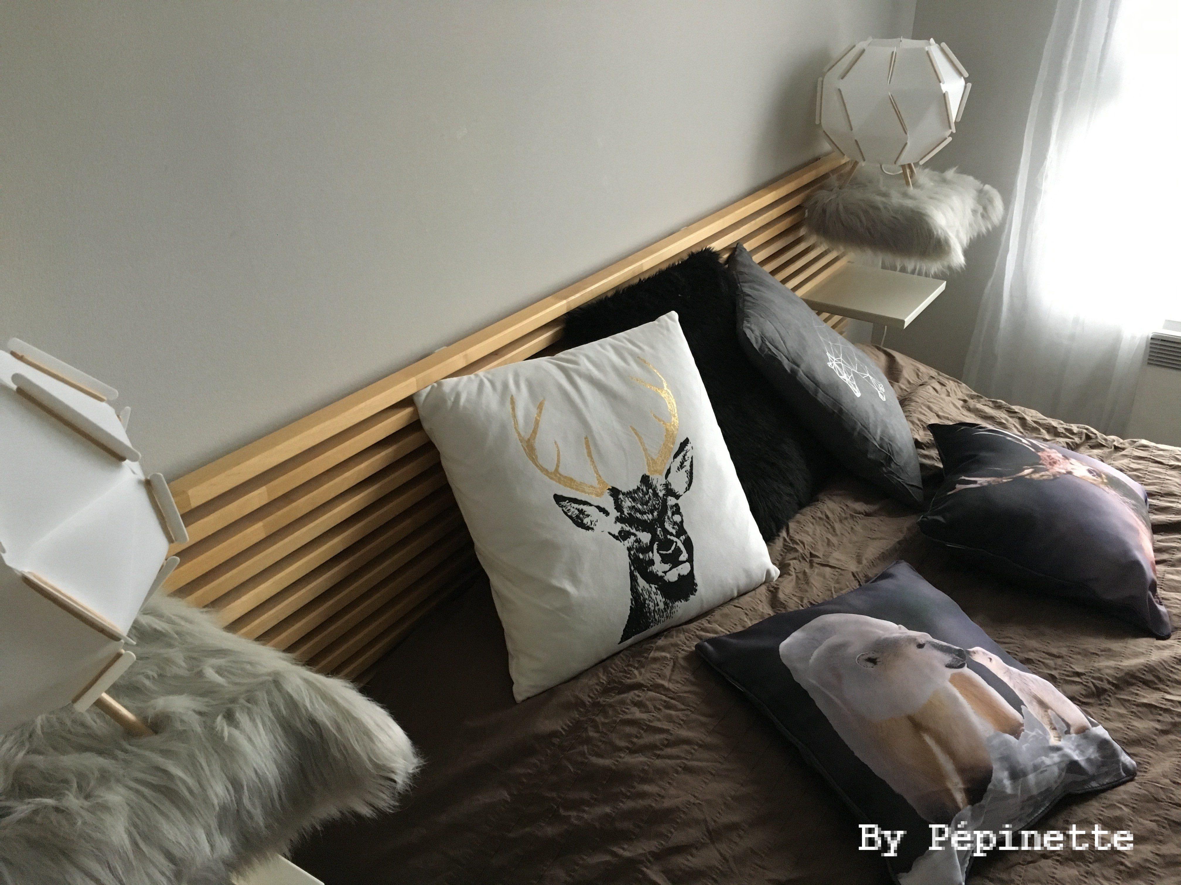 une d233co de chambre cocooning esprit montagne � bypepinette