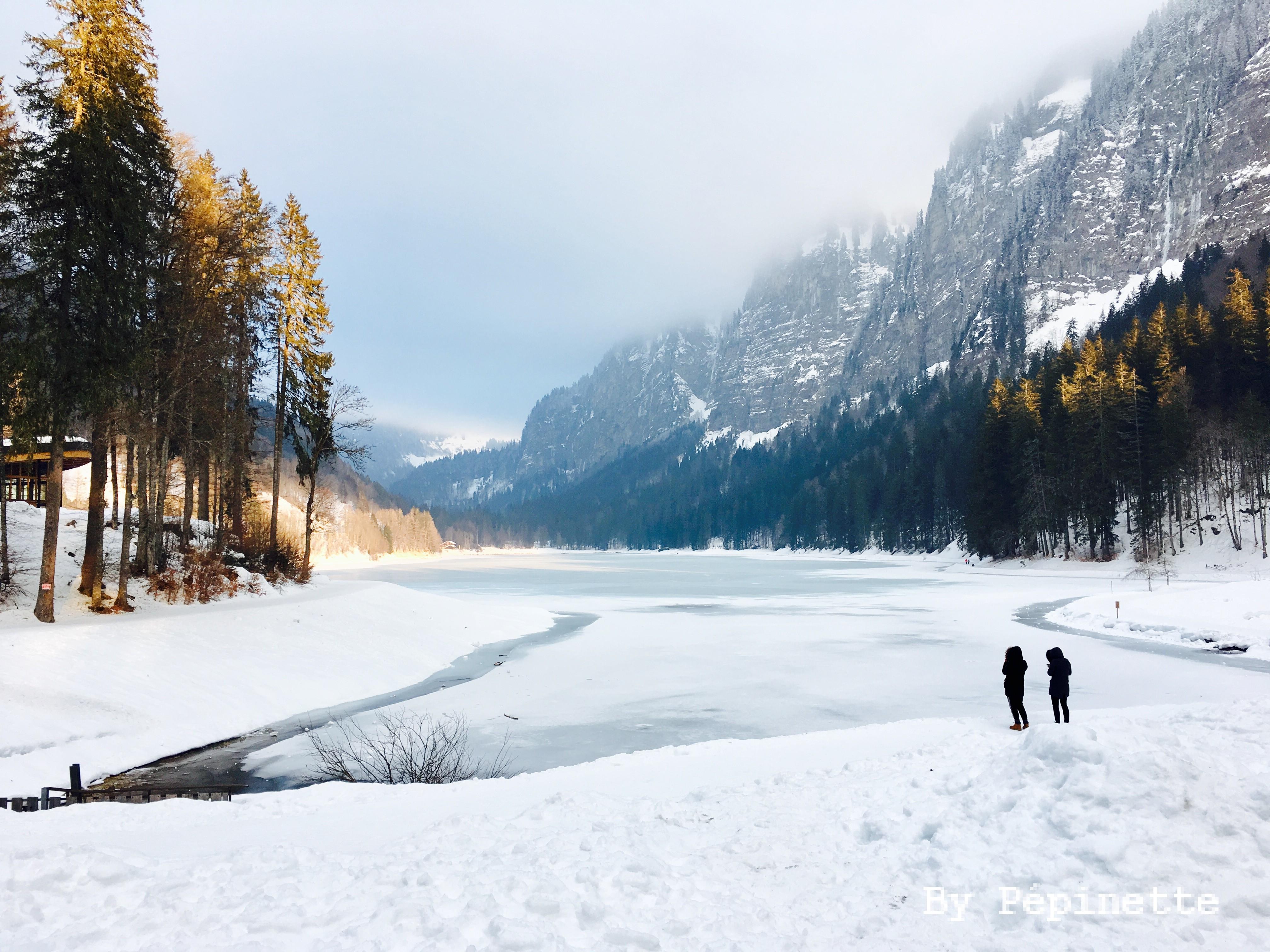 Montriond : son lac et son «petit nid d'amour» !